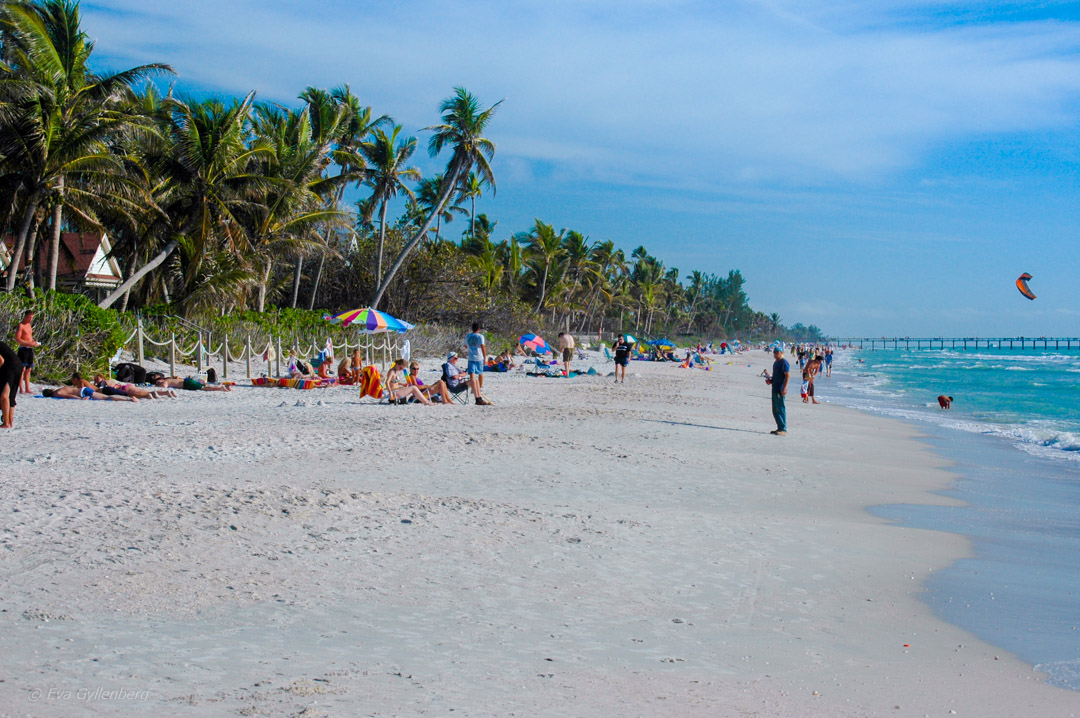 Naples strand, Florida