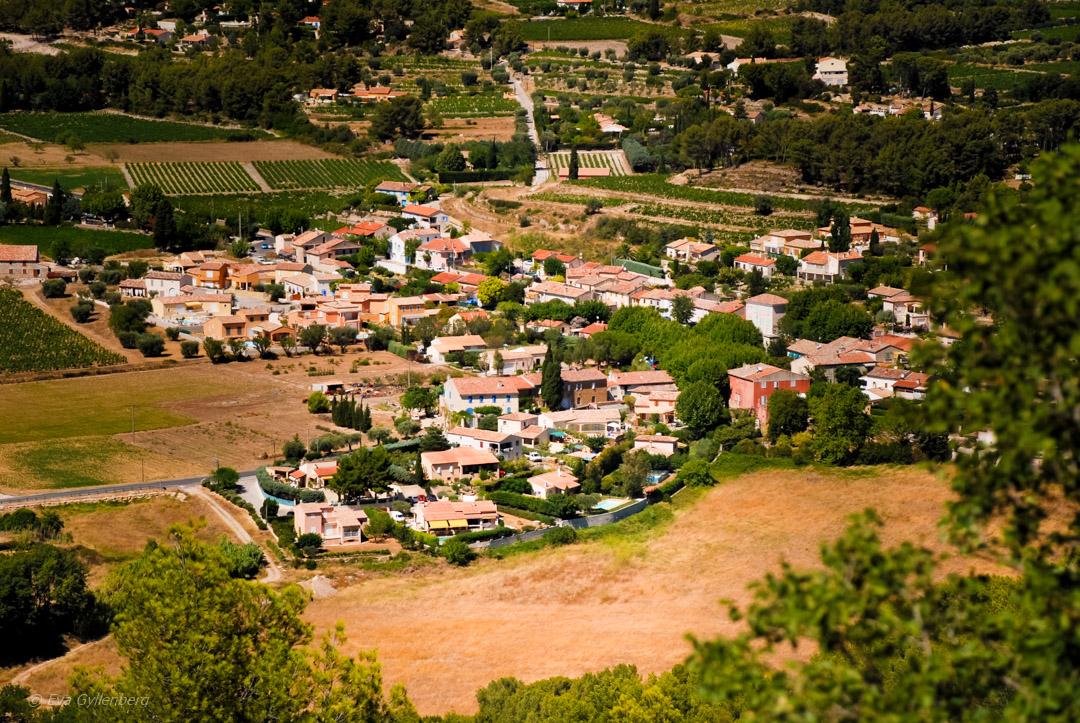 Stad i Provence, Frankrike