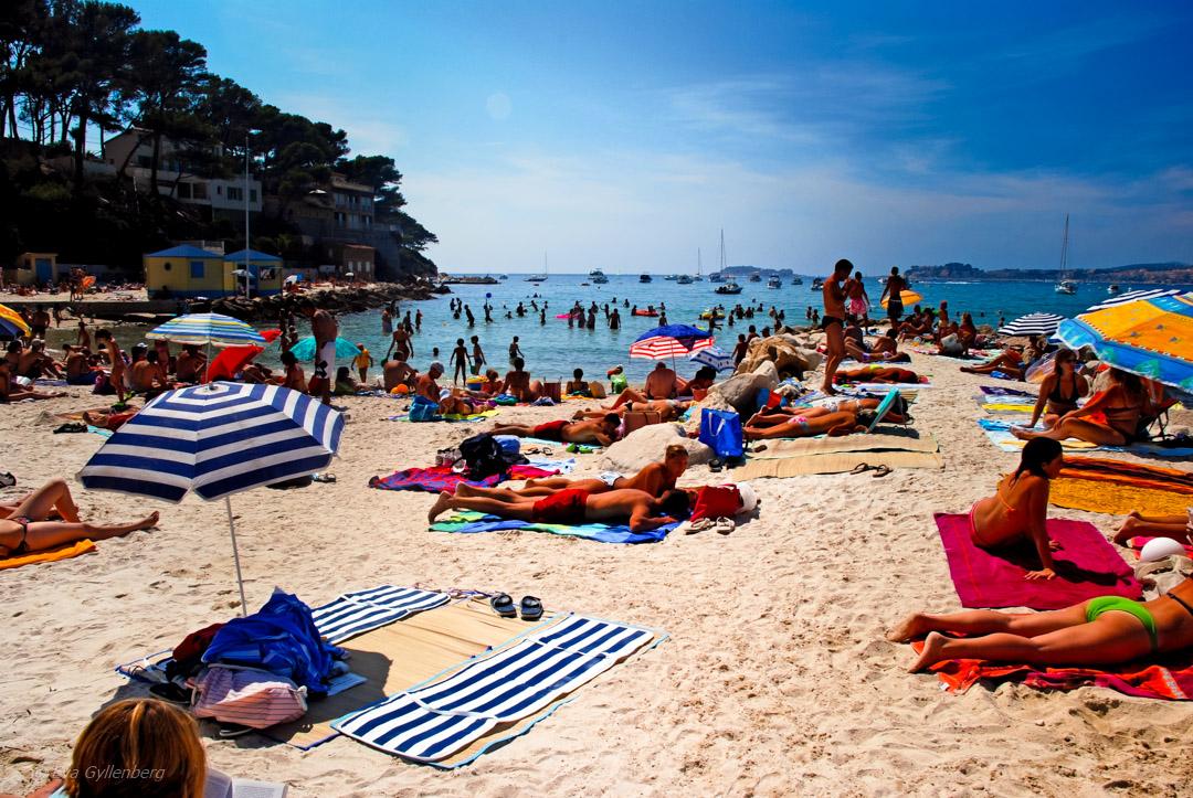 Provence-Frankrike-Strand