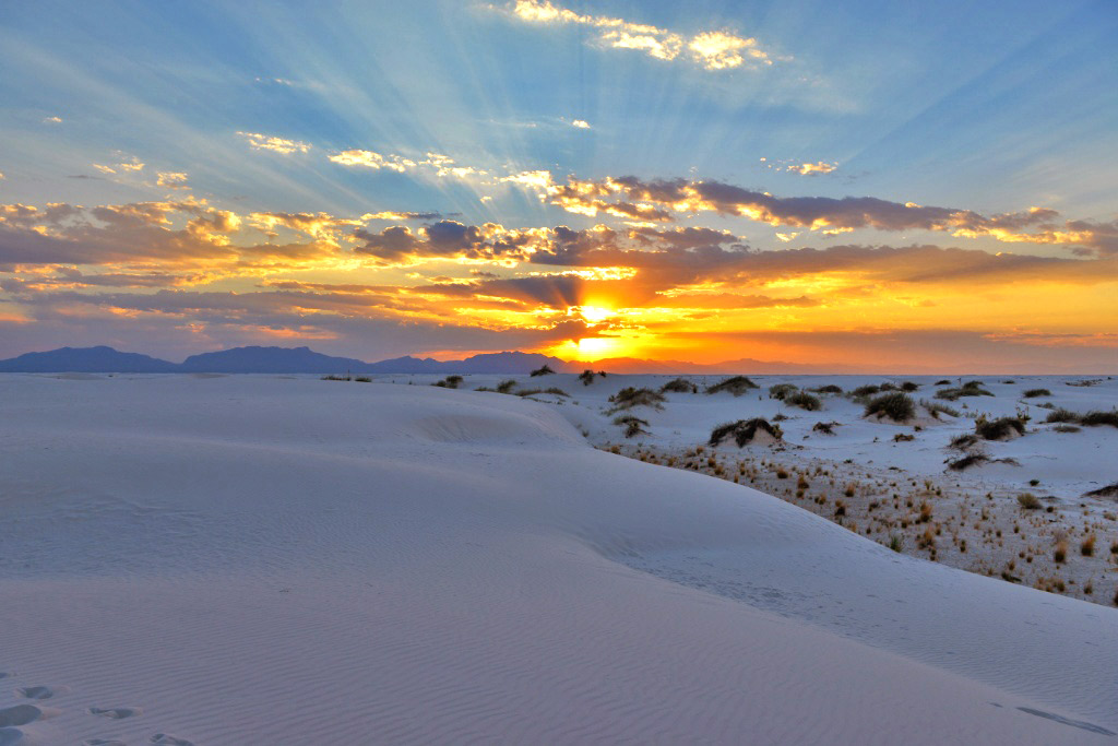 white sands new