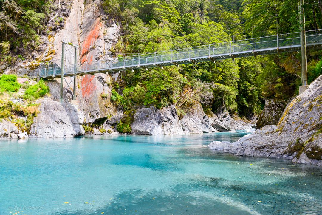 Blue Pools Mount Aspiring