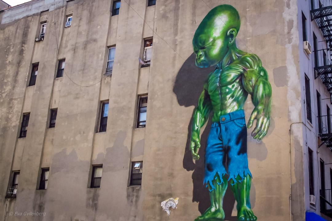Alien in New York
