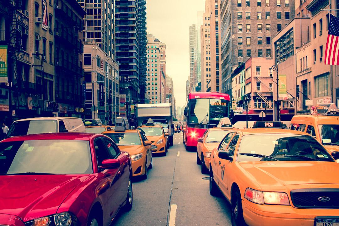 Mitt i gatan - New York