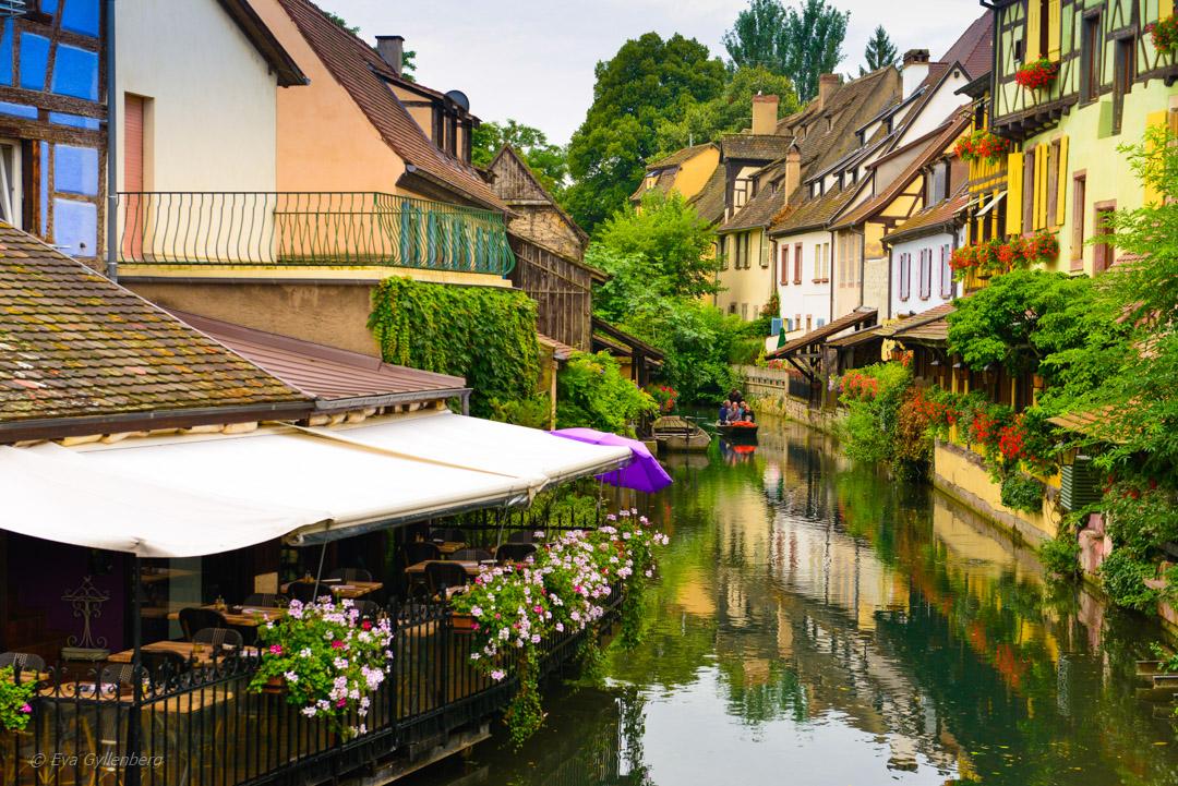 En av Colmars alla vackra kanaler