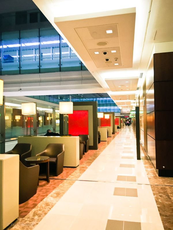 Emirates Business Class Lounge i Dubai 12