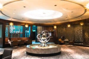 Emirates Business Class Lounge i Dubai 18