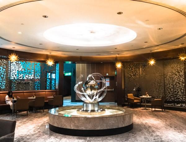 Emirates Business Class Lounge i Dubai 3
