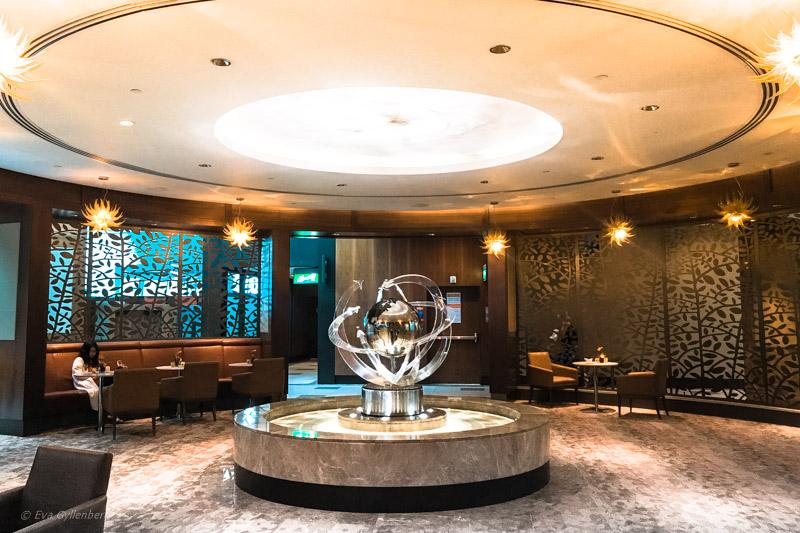 Emirates Business Class Lounge i Dubai 1