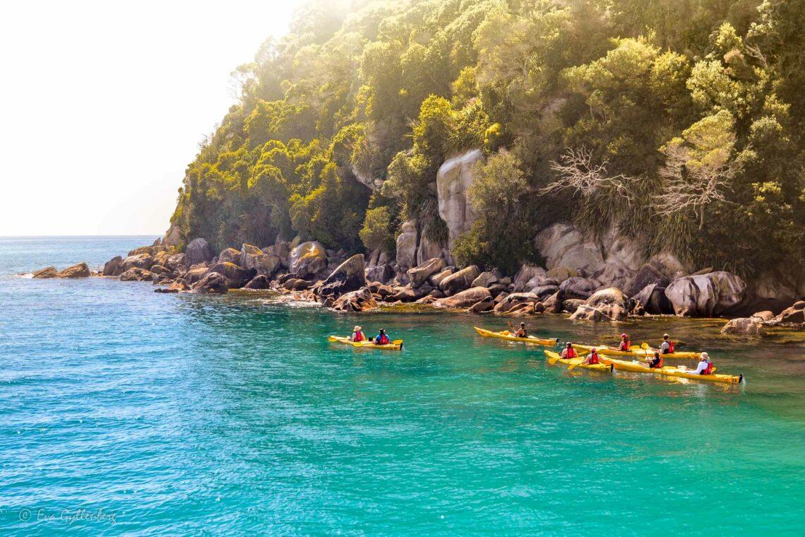 Abel Tasman National Park - Resedagbok Nya Zeeland dag 8 1