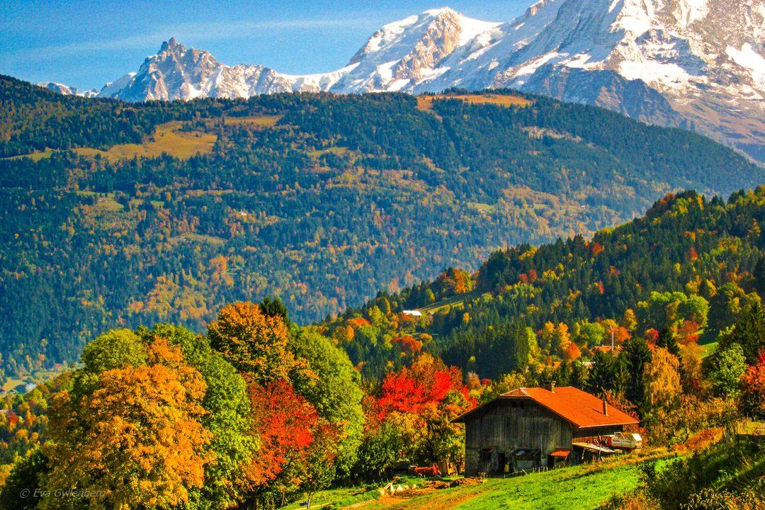 Autumn french alps
