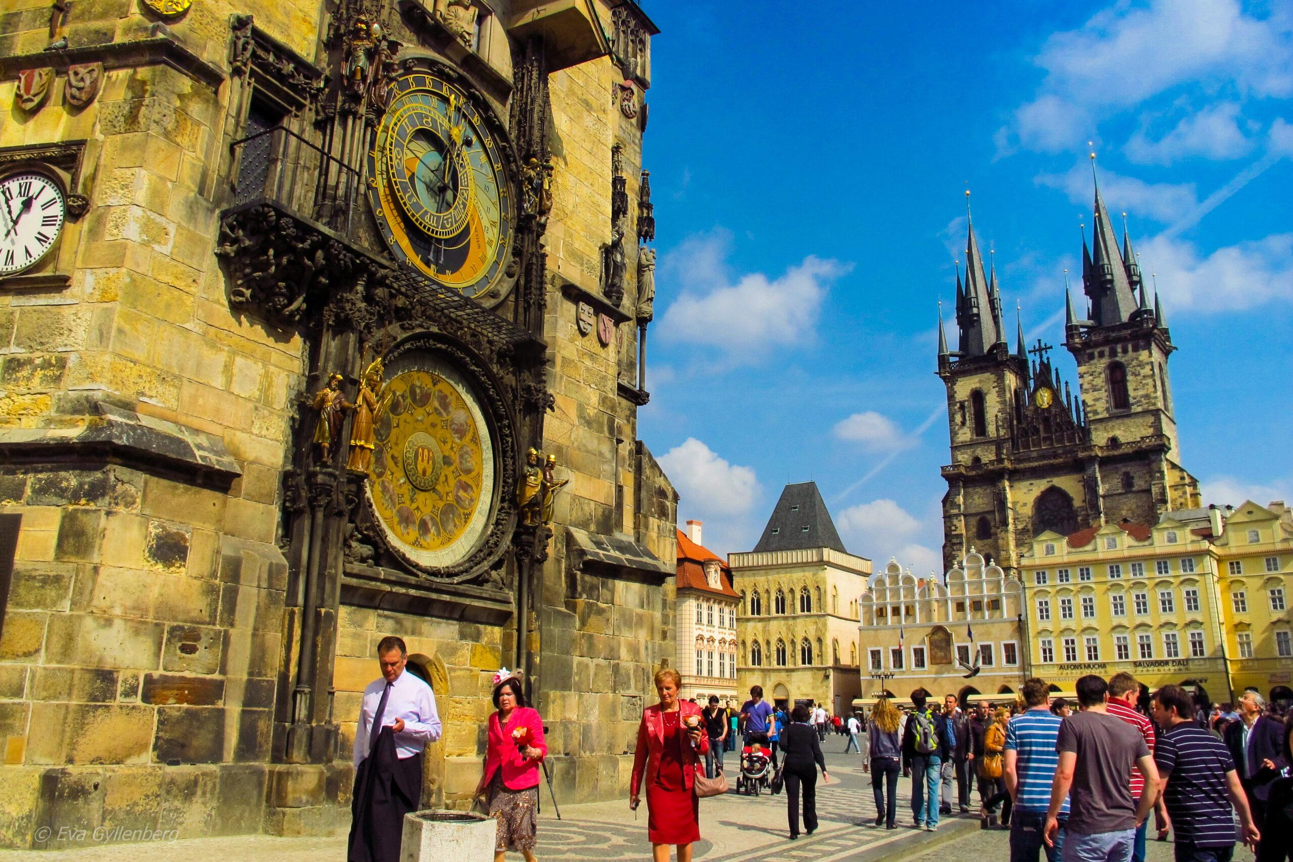 Rådhuset och astronomiska uret - Prag