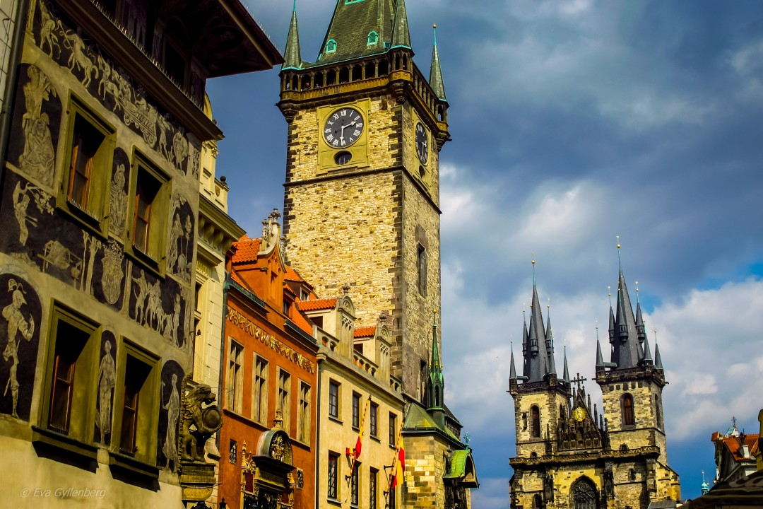 Prag-Tjeckien