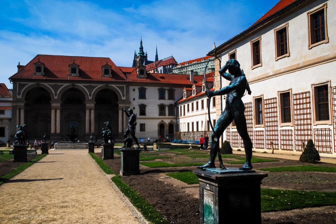 Wallensteinträdgården - Prag