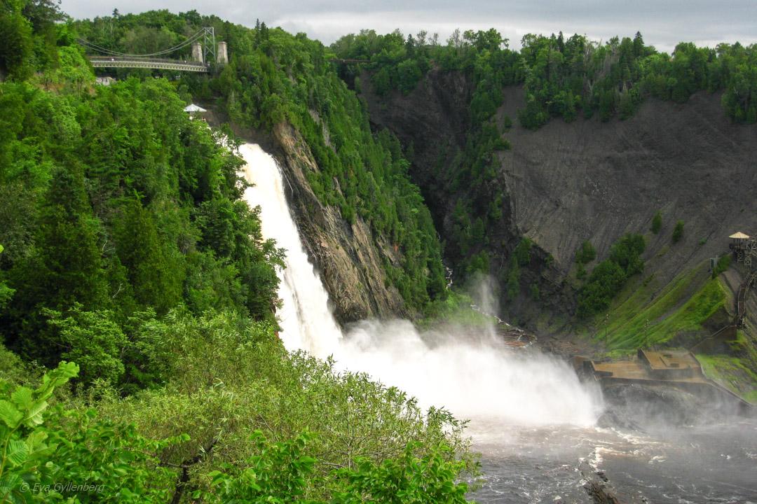 Chute-Montmorency utanför Québec