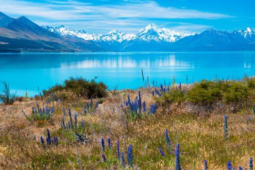 Mount Cook i horisonten