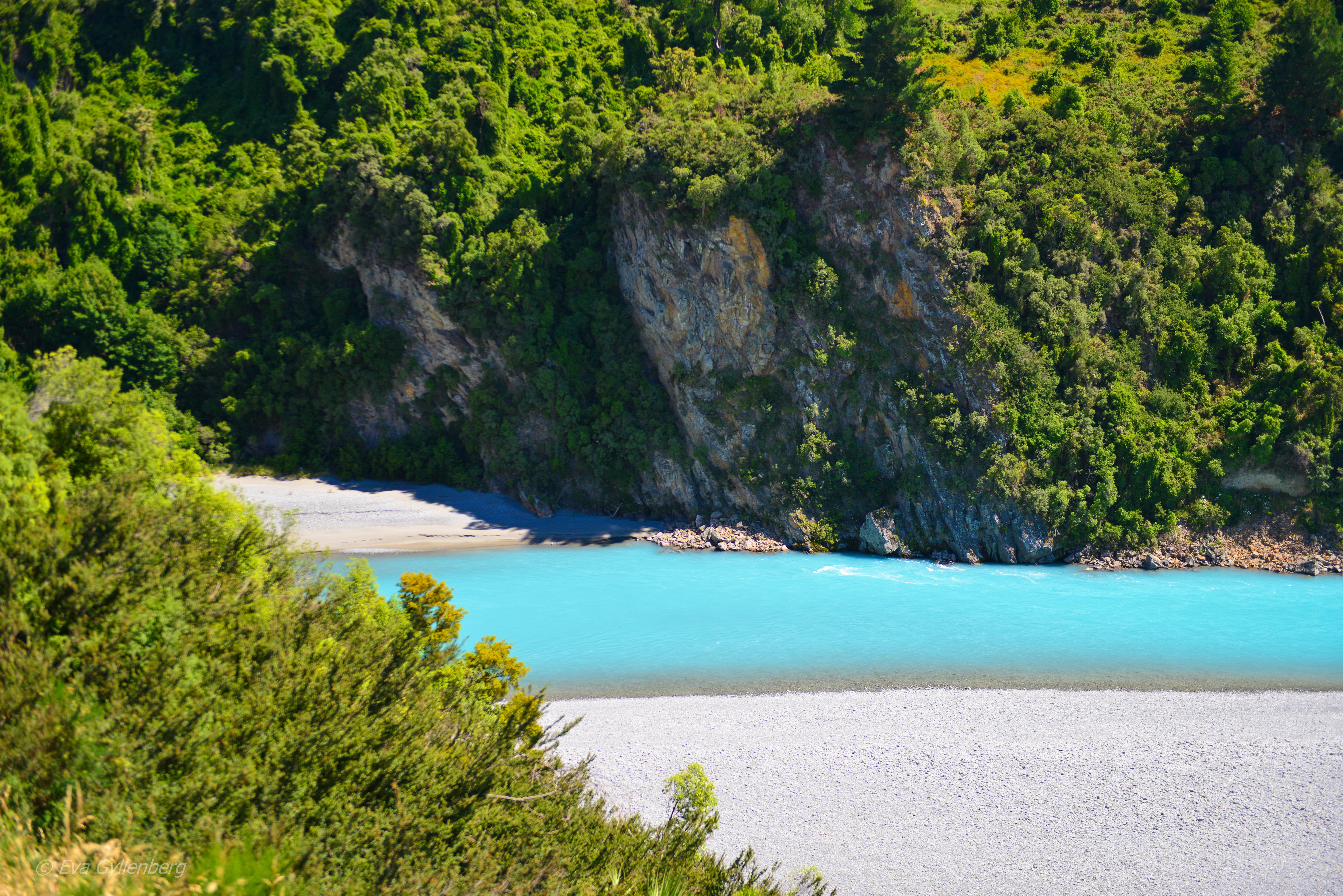 Rakaia Gorge - Nya Zeeland