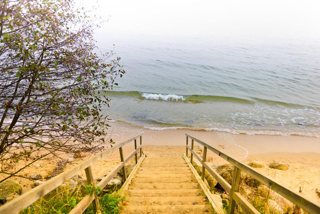 Stranden vid Knäbäckshusen