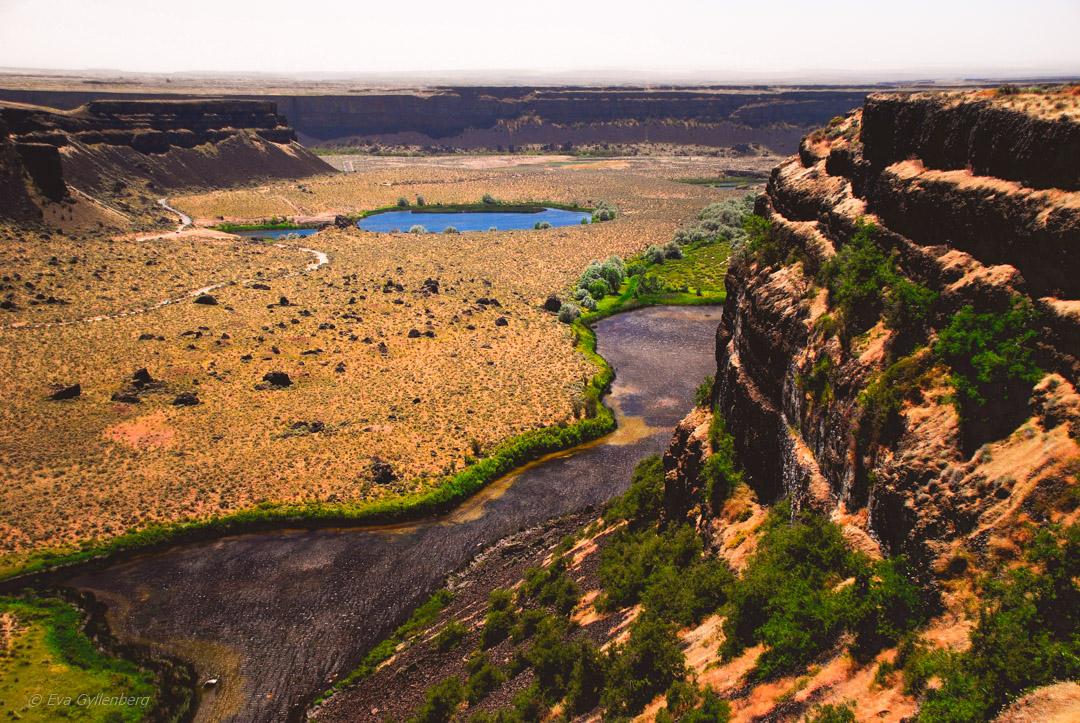 Dry falls - Washington state