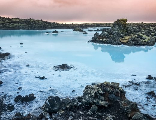 Island -Blå lagunen