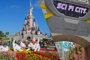 Disneyland Universal Studios