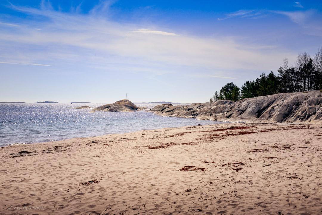 Sandhamn - Lilla Trouville-stranden