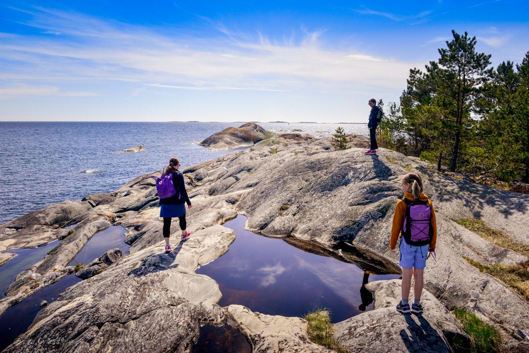 Sandhamn – dagsutflykt till stränder och klippor