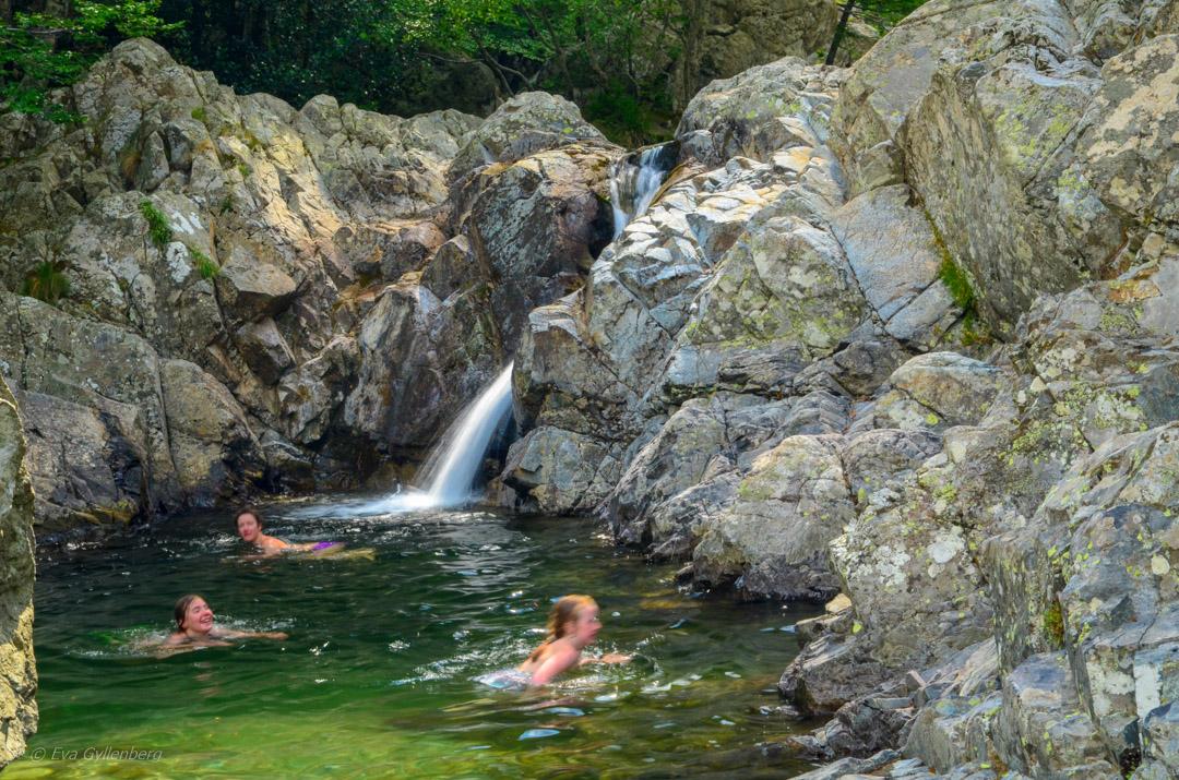 Cascades des Anglais - Korsika