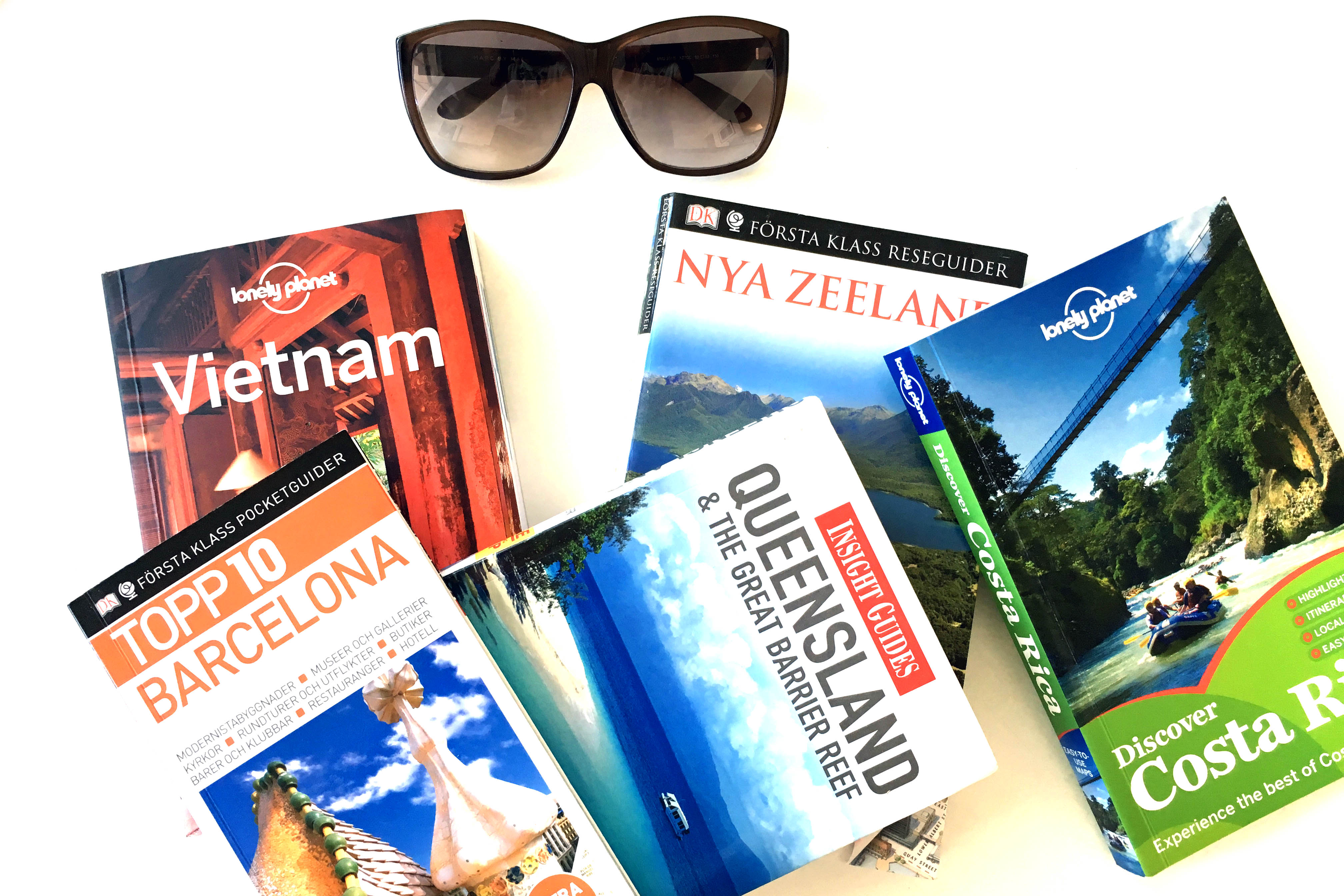 Hur hittar man den perfekta guideboken?