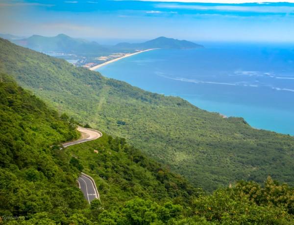 Hai Van Pass utsikt