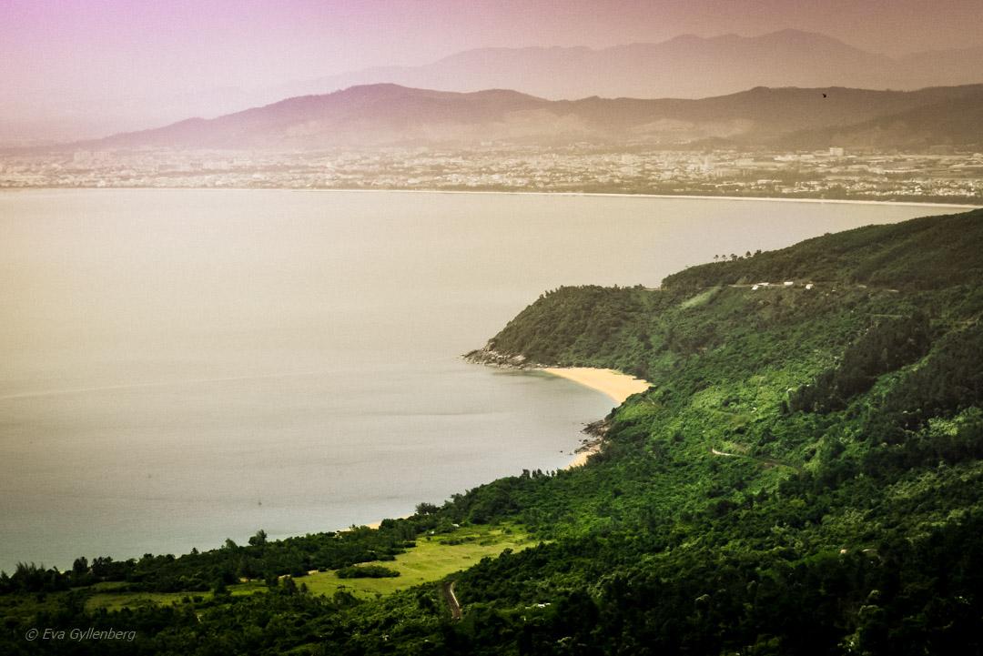 Hai Van Pass utsikt mot Da Nang