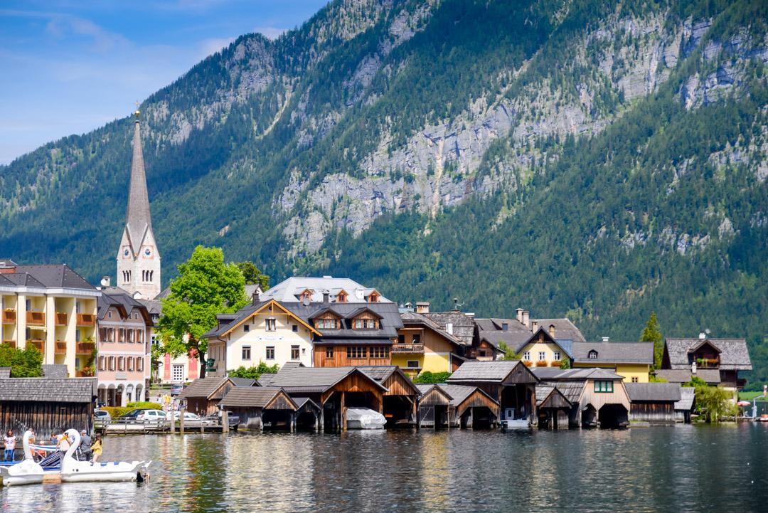 Hallstatt-Österrike
