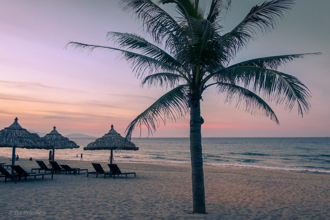Stranden utanför Hoi An, Vietnam