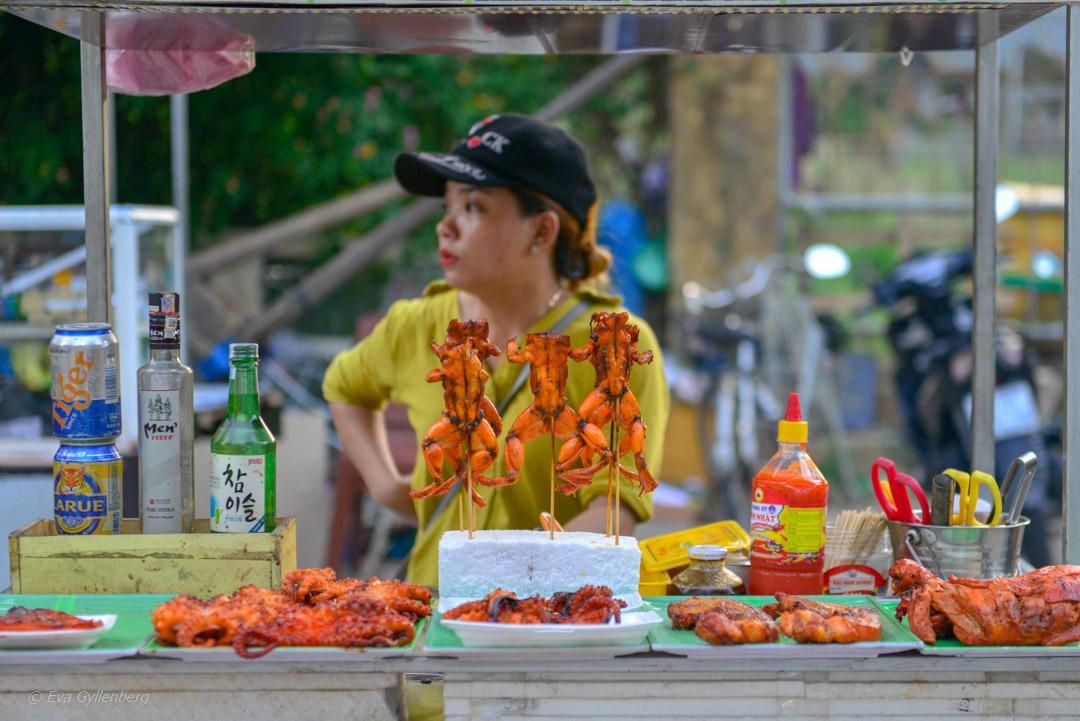 Marknad i Hoi An, Vietnam