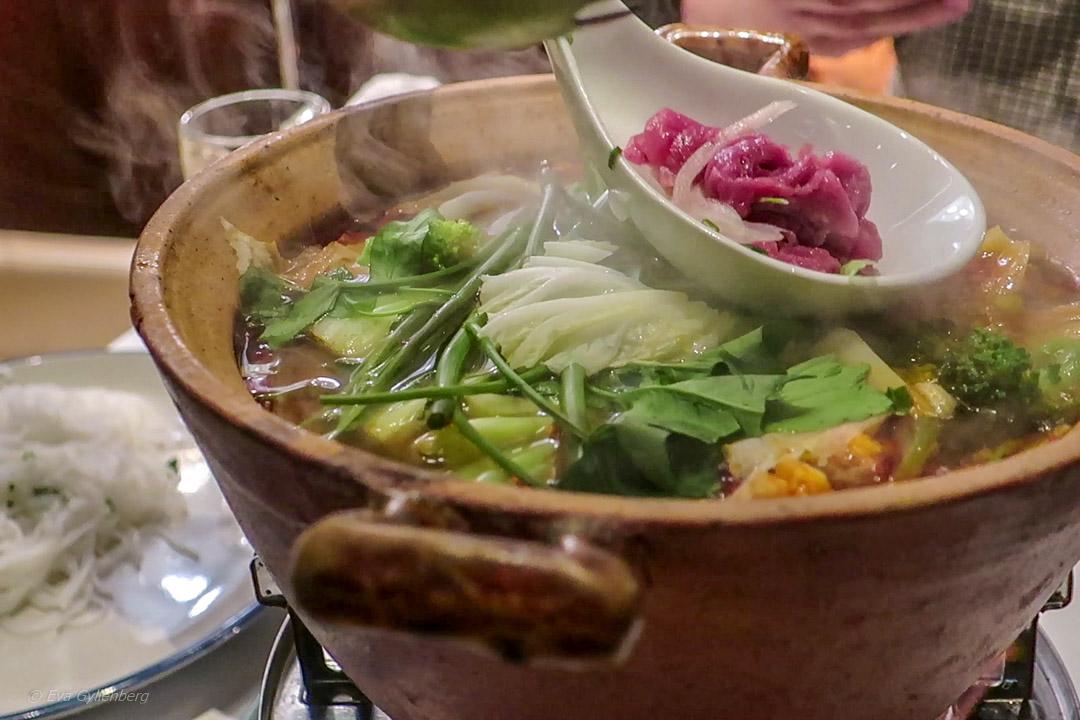 Vietnamese hot pot