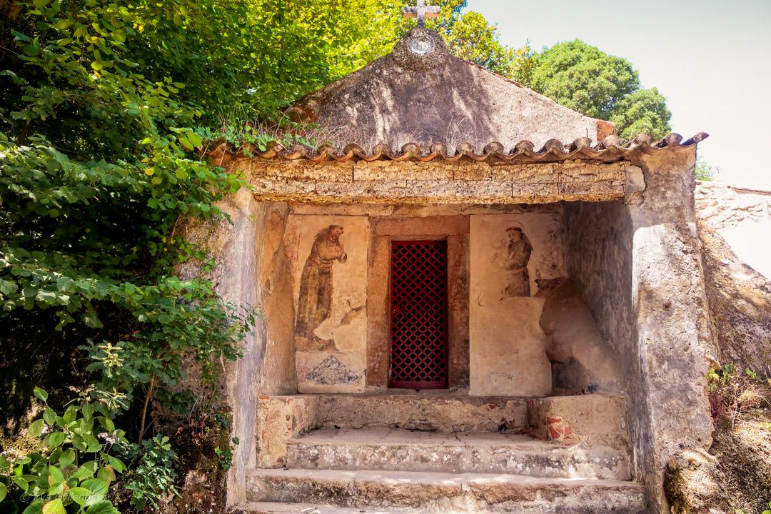 Convento dos Capuchos - Det övergivna klostret 12