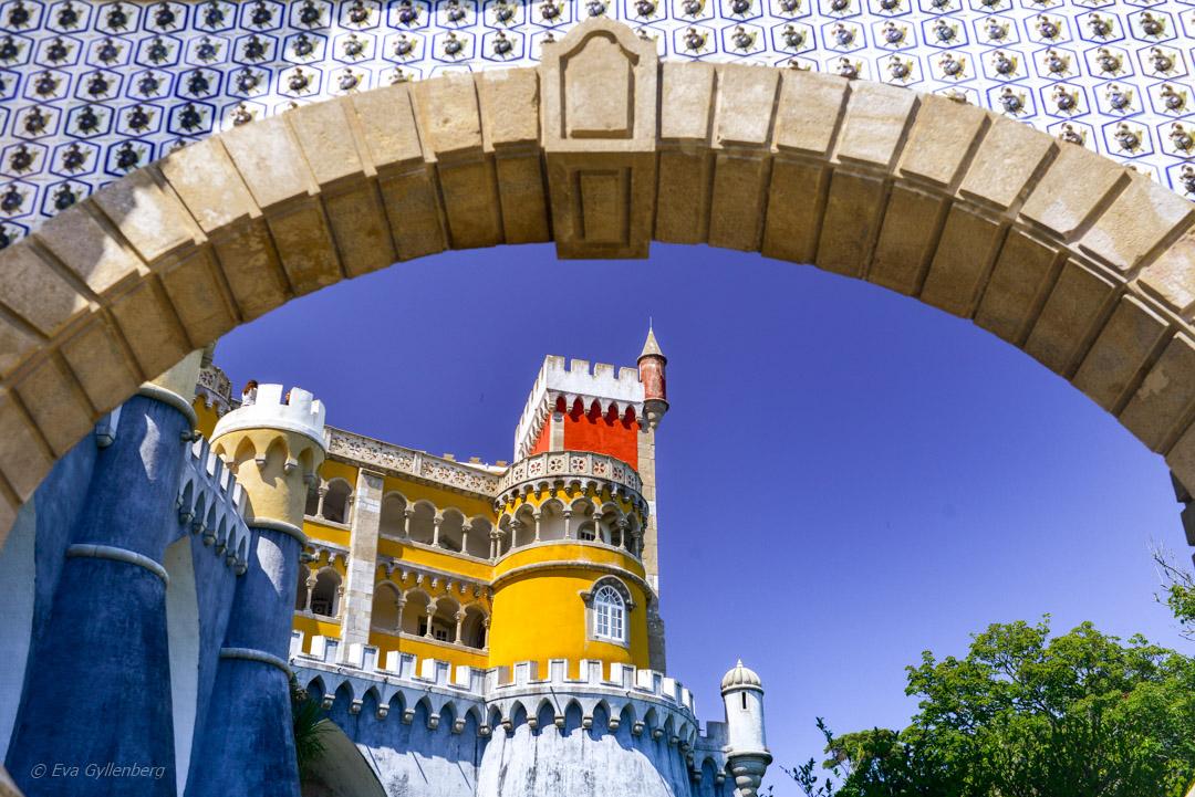 Penapalatset i Sintra - Slottet vi nästan gav upp 1