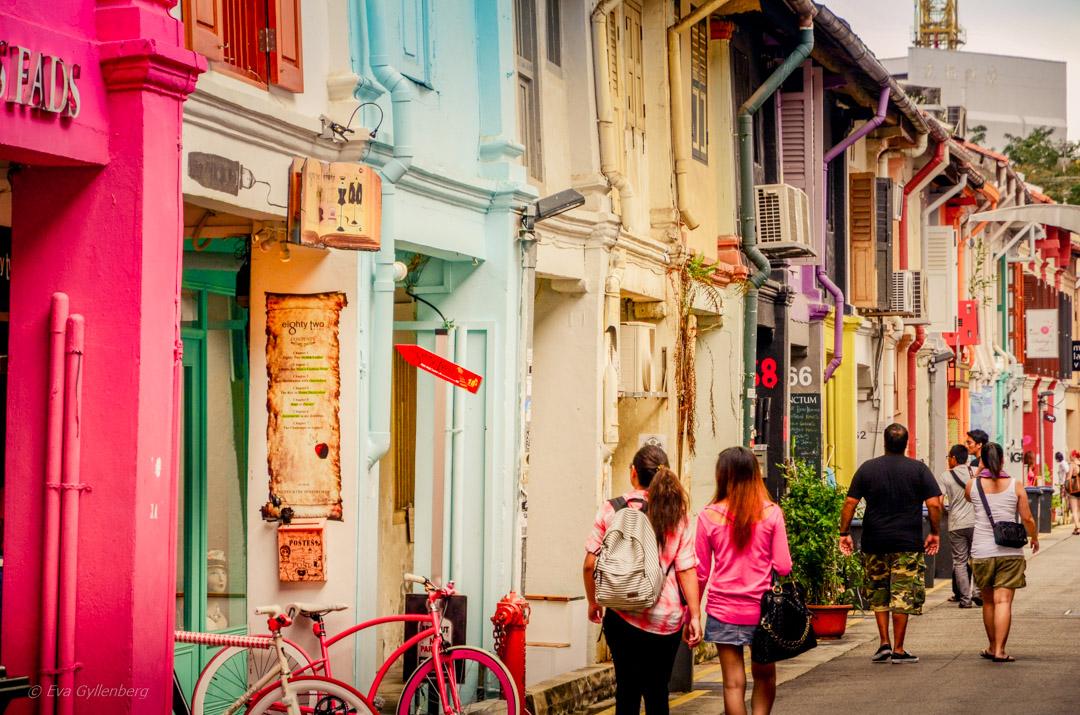 Kampong Glam – Singapores trendiga kvarter (med en riktig fika!)