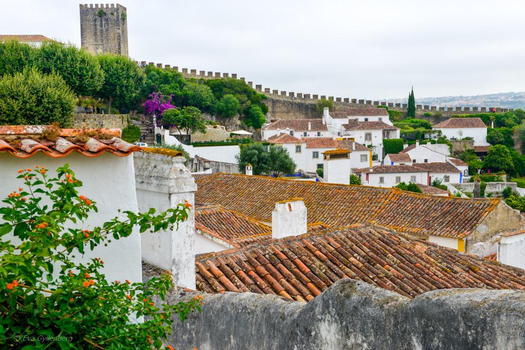 Obidos i Portugal