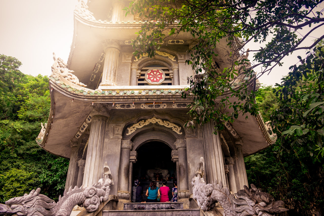 Marble Mountains – Tempelbergen utanför Hoi An