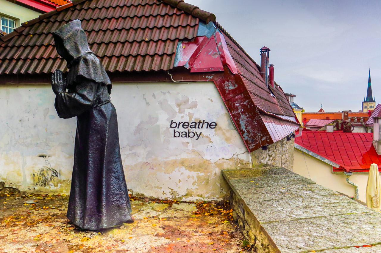 Breath baby citat - Tallinn - Estland