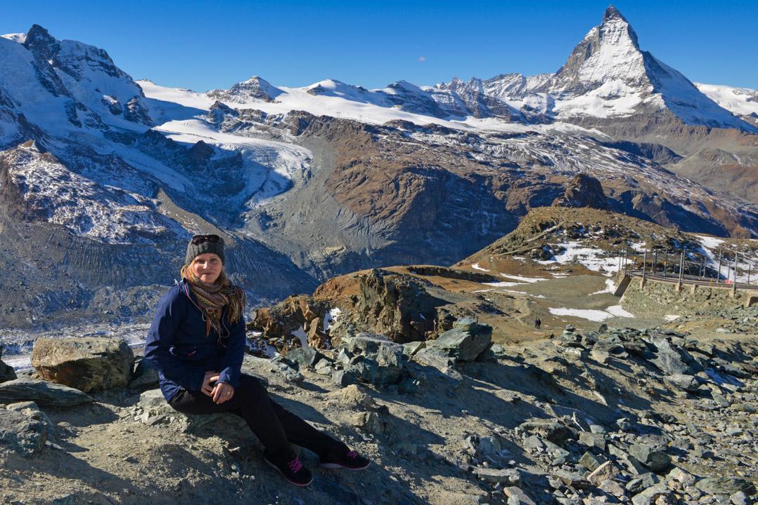 Eva på Zermatt