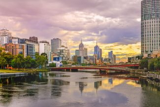 Melbourne och Yarra