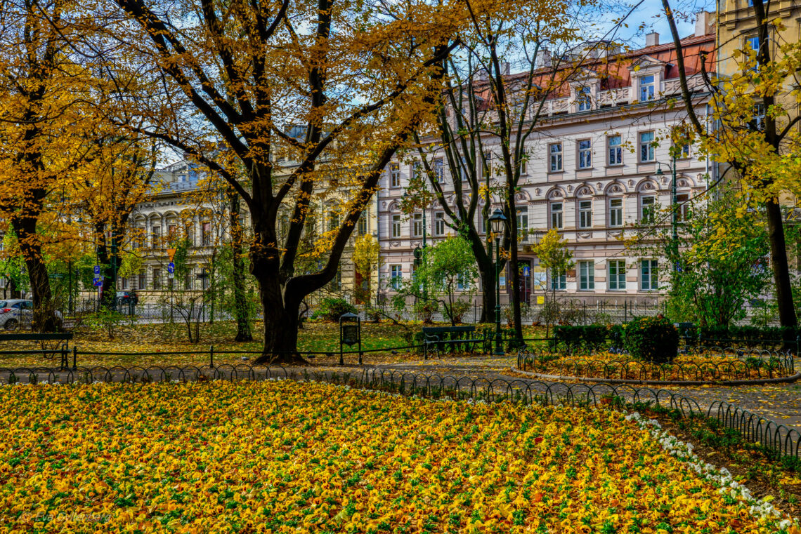 Krakow - Planty park