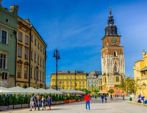 Krakow - Stora marknadstorget