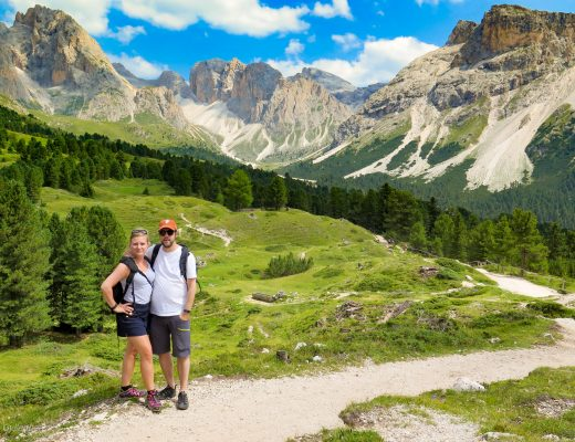 Vandra med familjen i Dolomiterna