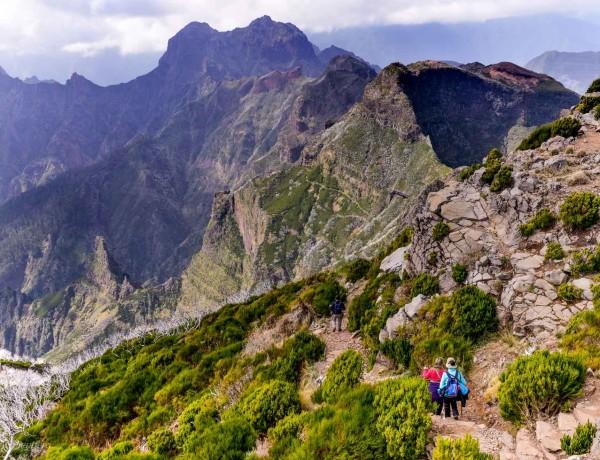 Vandring till Pico Ruivo - Madeiras högsta topp 5