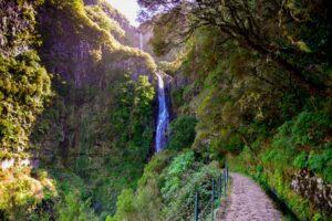 Levadavandring på Madeira - Vattenfallen vid Rabaçal 8