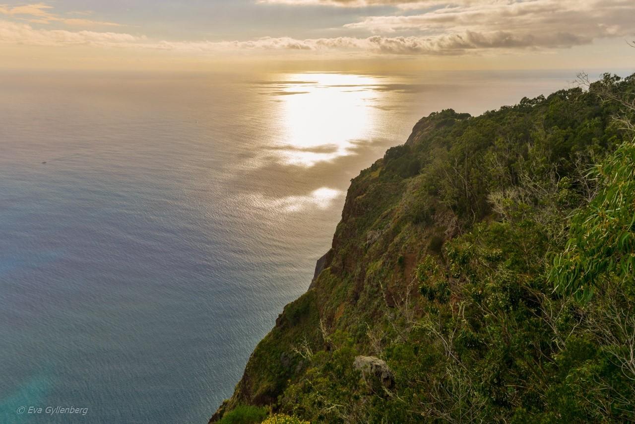 Cabo Girao solnedgång