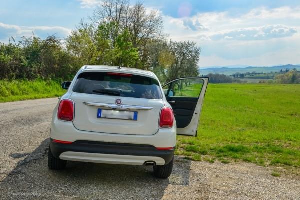 Bila i Italien med liten bil