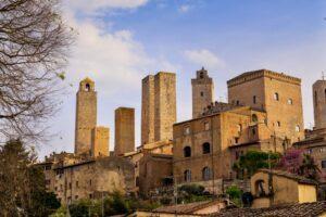 San Gimignano - torn, fejder och tryffel 27